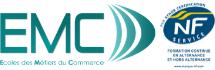 EMC Ecole de Commerce sur Metz Logo